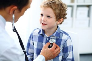 boy at doctor