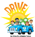 DRIVE is a non-profit organization, part of the R&E Family Foundation.