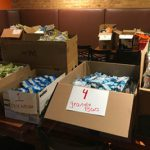 Back to School Supplies Drive-Packaging Backpacks for Kids